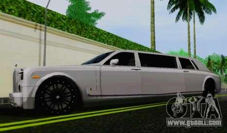 Rolls-Royce Phantom Limo for GTA San Andreas left view