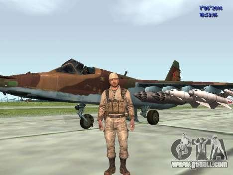 Afghanistan Soviet Soldiers for GTA San Andreas ninth screenshot
