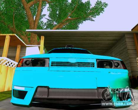 VAZ 2112 Tuneable for GTA San Andreas