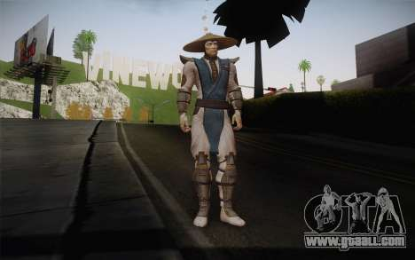 Raiden from Mortal Kombat 9 for GTA San Andreas