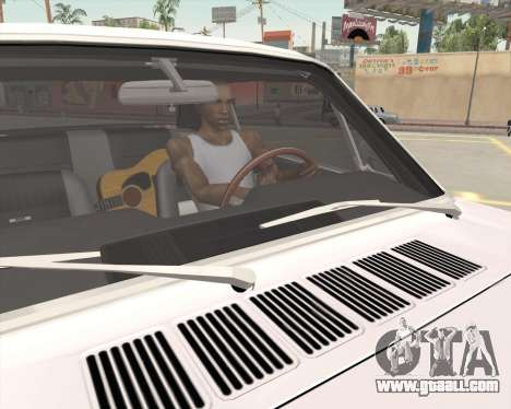 Animation pressing signal for GTA San Andreas fifth screenshot