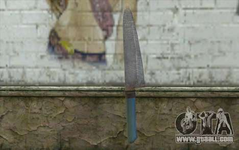The old kitchen knife for GTA San Andreas second screenshot