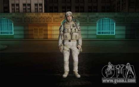 U.S. Marines for GTA San Andreas