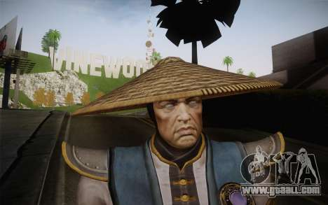 Raiden from Mortal Kombat 9 for GTA San Andreas third screenshot