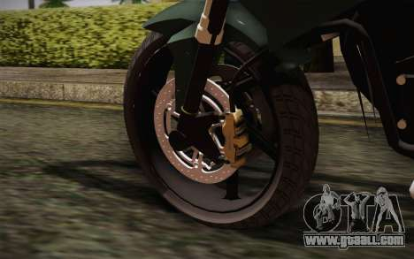 Yamaha FZ6 for GTA San Andreas back left view