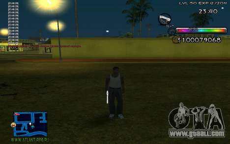 C-HUD by Miks for GTA San Andreas