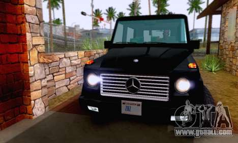 Mercedes-Benz G500 1999 Short for GTA San Andreas side view