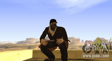 New Aiden Pearce for GTA San Andreas seventh screenshot