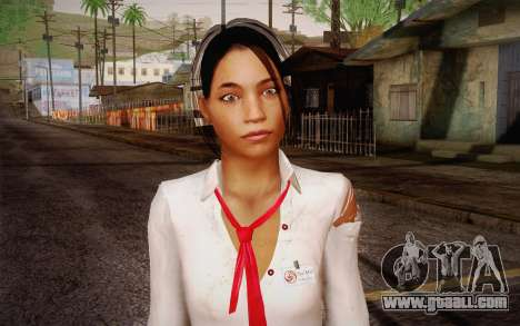 Xian Mei from Dead Island for GTA San Andreas third screenshot