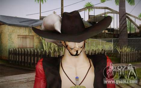 One Piece Dracule Mihawk for GTA San Andreas third screenshot