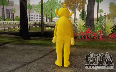 Lala (Teletubbies) for GTA San Andreas second screenshot