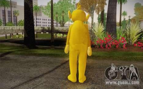 Lala (Teletubbies) for GTA San Andreas second screenshot
