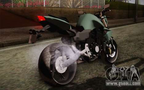 Yamaha FZ6 for GTA San Andreas inner view