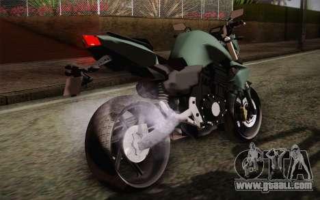 Yamaha FZ6 for GTA San Andreas inner view