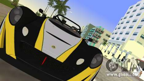 Lotus 2-Eleven for GTA Vice City right view