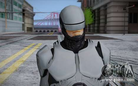 RoboCop 2014 for GTA San Andreas third screenshot