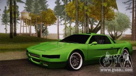 Infernus Racing Edition for GTA San Andreas