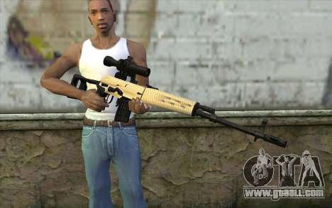 SVD Sniper Rifle for GTA San Andreas third screenshot