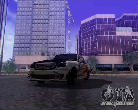 GAZ 31105 Tuneable for GTA San Andreas engine