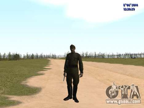 USSR Soldier Pack for GTA San Andreas eighth screenshot