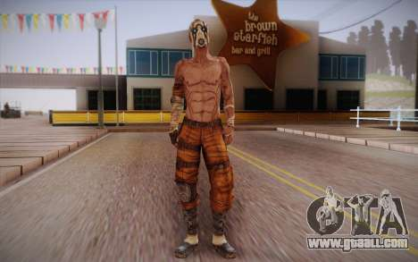 Gangster from Borderlands 2 for GTA San Andreas