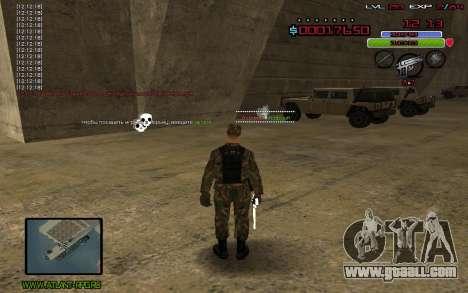 C-HUD by Mr.Bim for GTA San Andreas third screenshot