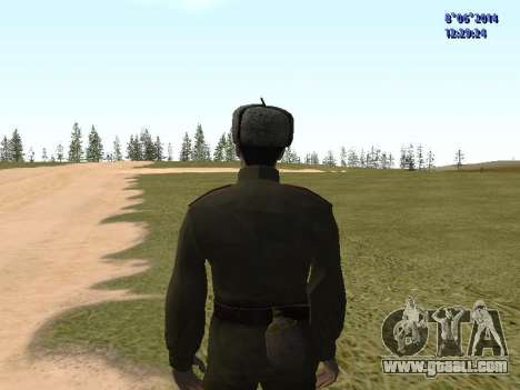 USSR Soldier Pack for GTA San Andreas sixth screenshot