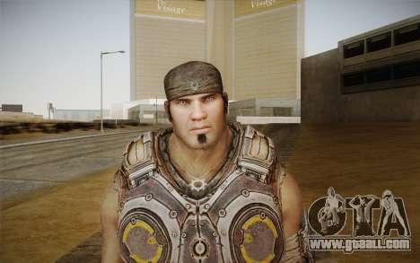 Marcus Fenix из Gears of War 3 for GTA San Andreas third screenshot