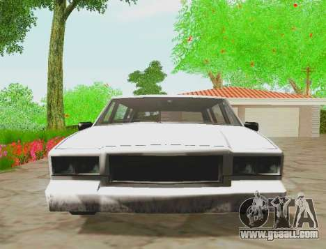 Tahoma Limousine for GTA San Andreas right view
