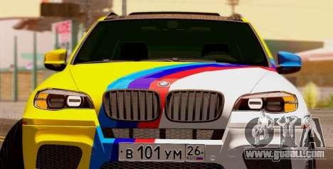 BMW X5M 2013 for GTA San Andreas left view