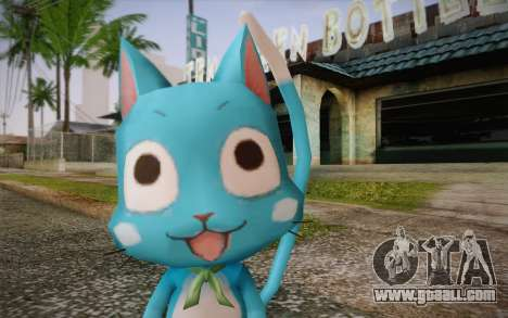 Happy from Fairy Tail for GTA San Andreas third screenshot