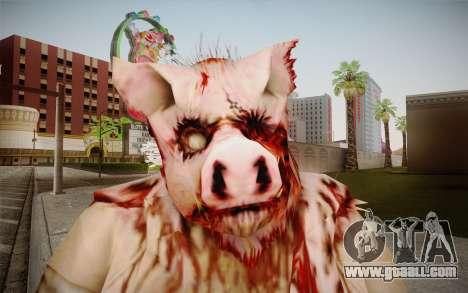Piggsy Skin for GTA San Andreas third screenshot