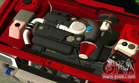 VAZ 2108 Turbo for GTA San Andreas interior
