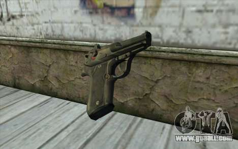 M9 Pistol for GTA San Andreas second screenshot