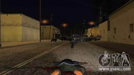 Franchi SPAS-12 for GTA San Andreas third screenshot