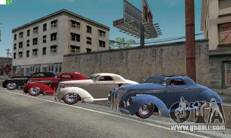 Lincoln Zephyr 1946 for GTA San Andreas