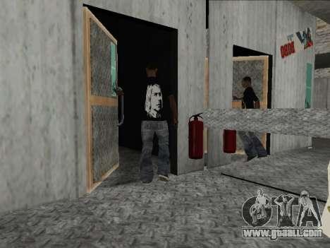 New Mike Nirvana and Kurt Cobain for GTA San Andreas third screenshot