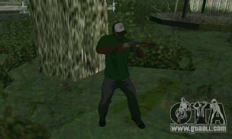 New features of weapons for GTA San Andreas second screenshot