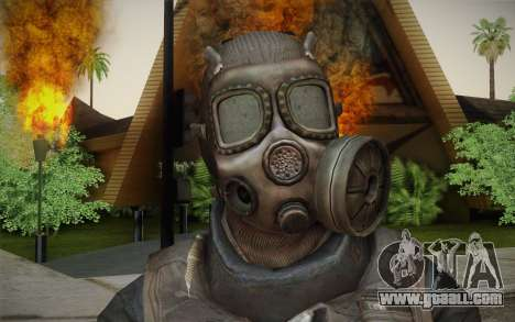 S.A.S Gas Mask for GTA San Andreas third screenshot