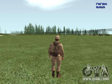 Afghanistan Soviet Soldiers for GTA San Andreas eighth screenshot