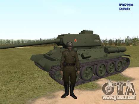 USSR Soldier Pack for GTA San Andreas second screenshot