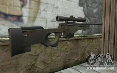 Arctic Warfare Super Magnum L115A1 for GTA San Andreas second screenshot