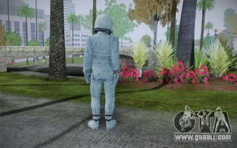 Spacesuit From Fallout 3 for GTA San Andreas second screenshot