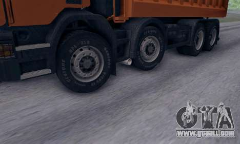 Scania P420 for GTA San Andreas right view