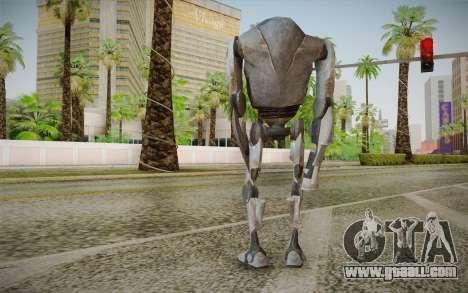 B2-Super Battle Droid skin for GTA San Andreas second screenshot