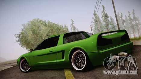 Infernus Racing Edition for GTA San Andreas left view