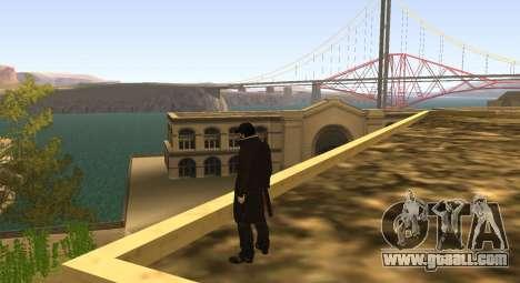 New Aiden Pearce for GTA San Andreas third screenshot