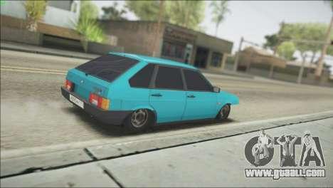 VAZ 2109 for GTA San Andreas back left view