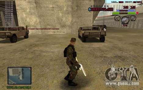 C-HUD by Mr.Bim for GTA San Andreas second screenshot