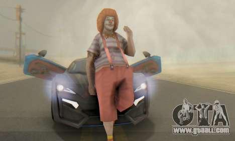 W-Motors Lykan Hypersport 2013 Blue Star for GTA San Andreas interior